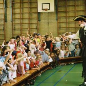 Kindershow Sjaak de Piraat boeken of inhuren?
