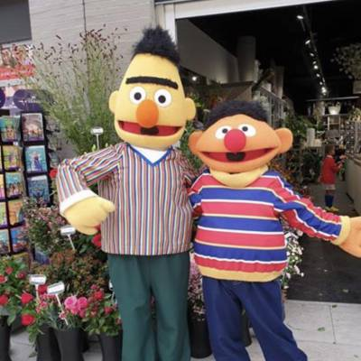 Bert en Ernie meet and greet