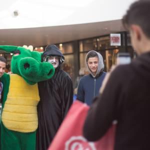 Meet & Greet de Draak en de Heks inzetten?