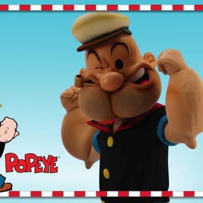 Popeye meet and greet inhuren of boeken