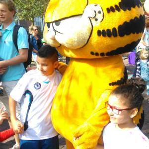 Meet & Greet Garfield boeken?