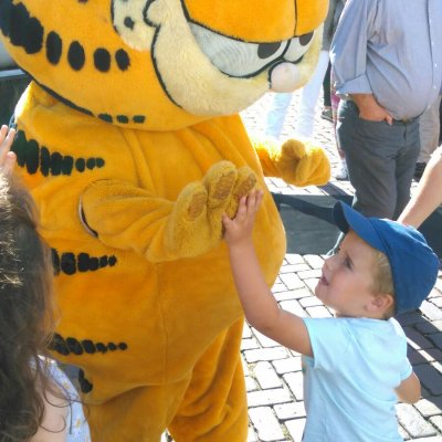 Meet & Greet Garfield huren?