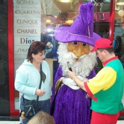 Meet & Greet de Heks en de Tovenaar inhuren?