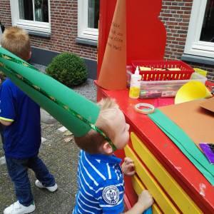 Kids Workshop Heksen Puntmutsen maken boeken
