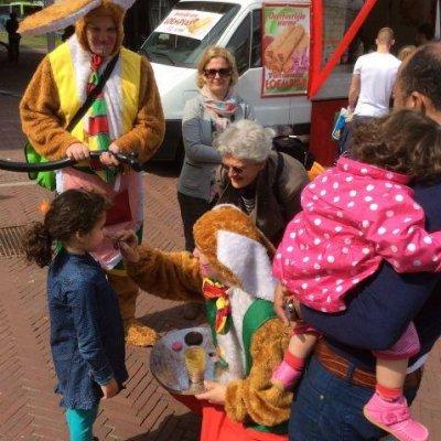Foto van Mini Paashazen Surprise Car | Attractiepret.nl