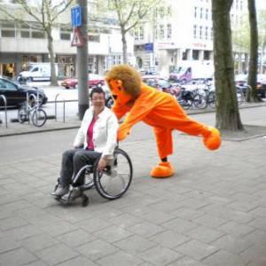 Meet & Greet de Oranje Leeuw inhuren