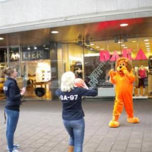 Meet & Greet de Oranje Leeuw huren?