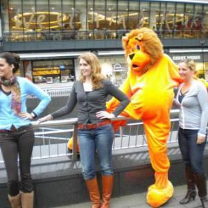 Meet & Greet de Oranje Leeuw inhuren?