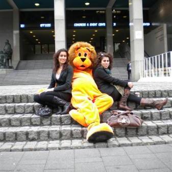 Oranje Leeuw Meet & Greet huren