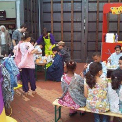 Foto van Kids Workshop Bloempot Schilderen | Attractiepret.nl