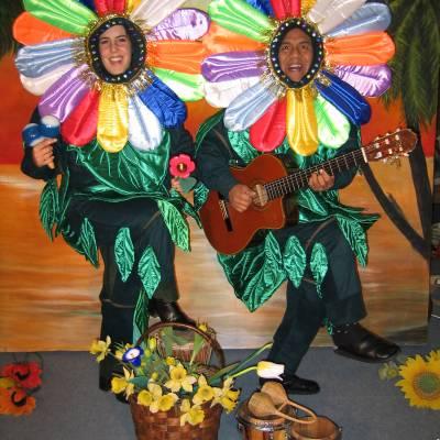 Foto van Los del Sol - De Zingende Bloemen   Artiestenbureau JB Productions