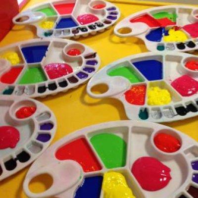 Kunst 4 Kids met Voorjaarstekening inhuren?