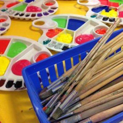Kunst 4 Kids met Voorjaarstekening boeken of inhuren?