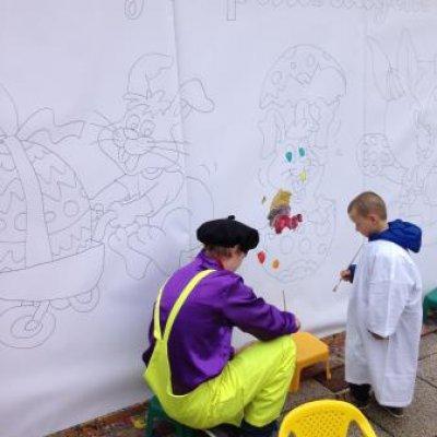 Boeken van Kunst 4 Kids met Voorjaarstekening