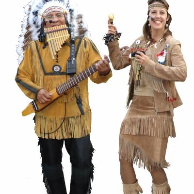 Foto van Los del Sol - Apache Indianen | Kindershows.nl
