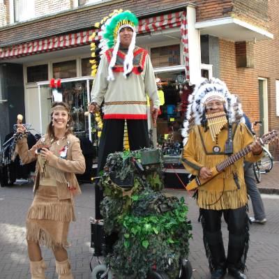 Fotoalbum van Los del Sol - Apache Indianen | Kindershows.nl