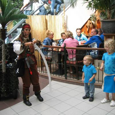 Los del Sol - Pirates of the Caribbean inzetten?