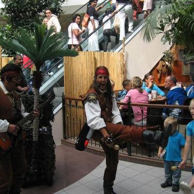Los del Sol - Pirates of the Caribbean muzikaal duo boeken?