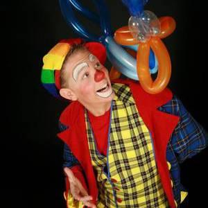 Clown Noni Knallende Kindershow inhuren?