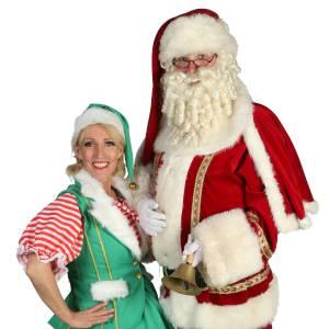 Rondlopende Kerstman en Kerstvrouwtje boeken?