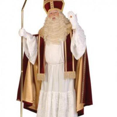 Foto van Standaard Sinterklaas Kostuum | Sint en Kerst