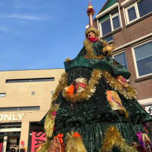 De echte zingende kerstboom huren