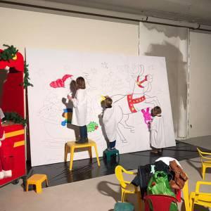Kunst 4 Kids met Kerst tekening boeken of inhuren?