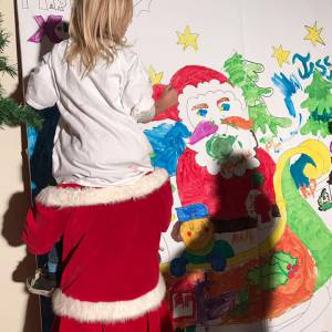 Kunst 4 Kids met Kerst tekening