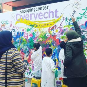 Inhuren van Kunst 4 Kids met Kerst tekening