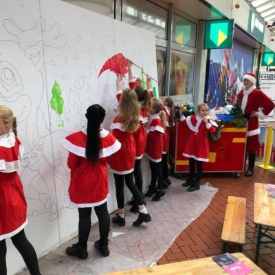 Foto van Kunst 4 Kids met Kerst tekening | Attractiepret.nl