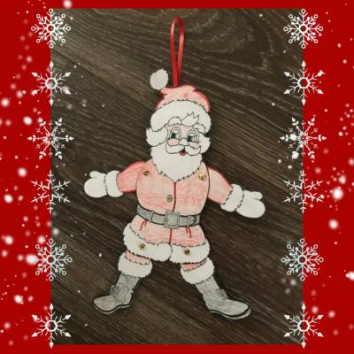 Foto van Kids Workshop - Kerstmannen Trekpoppen maken | SintenKerst