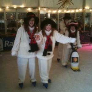 Het Te Gekke Sneeuwpoppen Team inzetten?