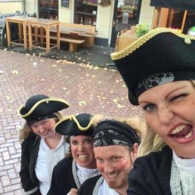 Fotoalbum van Het Te Gekke Piraten Team | Kindershows.nl