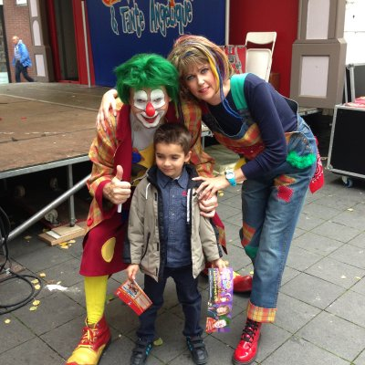 Foto van Clown Jopie & Tante Angelique Kindershow | Clownshow.nl
