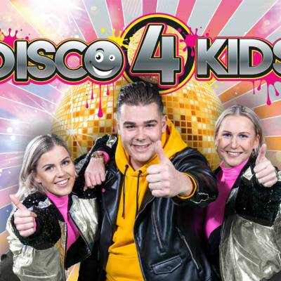 Disco 4 Kids - Kindershow inhuren