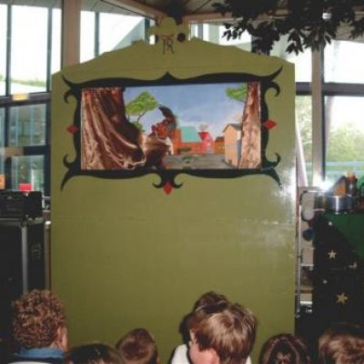 Foto van Goochelaar Richard Top Kindershow | Poppentheaters.nl