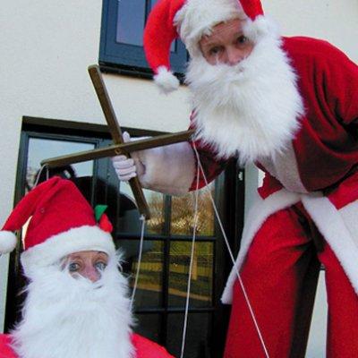 Foto van Kerstman en Kerstmaatje | SintenKerst