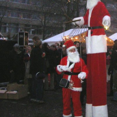 Foto van Kerstman en Kerstmaatje | Artiestenbureau SintenKerst.nl