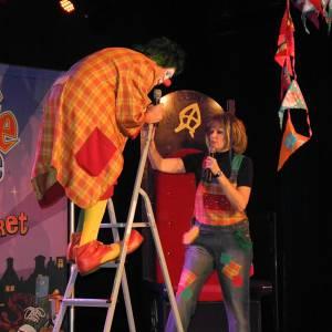 Clown Jopie en Tante Angelique Sinterklaasshow