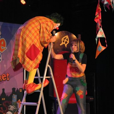 Clown Jopie en Tante Angelique Sinterklaasshow