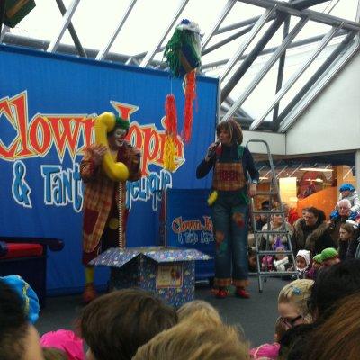 Sinterklaasshow inhuren in Winkelcentrum