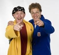 Fotoalbum van Ernst en Bobbie - Doe mee als je durft show | Kindershows.nl