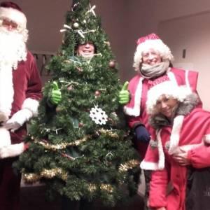 De Wandelende Kerstboom inzetten?