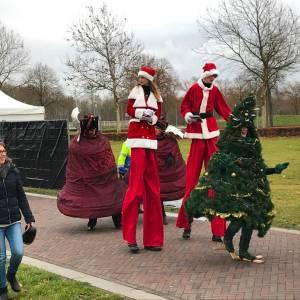 Wandelende Kerstboom