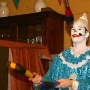 Clown Zassie Kindershow boeken?