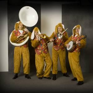 Swinging Dixieband - Paashazen orkest boeken?