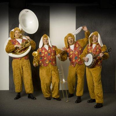 Fotoalbum van Swinging Dixieband - Paashazen orkest | Attractiepret.nl