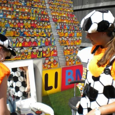Fotoalbum van Schminkstand Oranje | Kindershows.nl