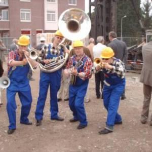 Swinging Dixieband - Bouwvakkers inhuren?