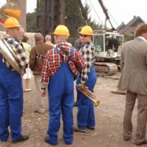 Swinging Dixieband - Bouwvakkers boeken of inhuren?